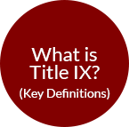 What is Title 9? Key definitions